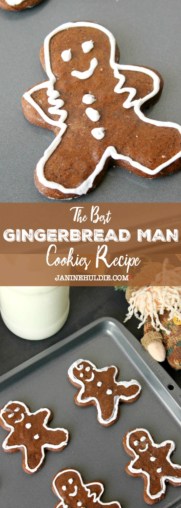 The Best Gingerbread Man Cookies Recipe