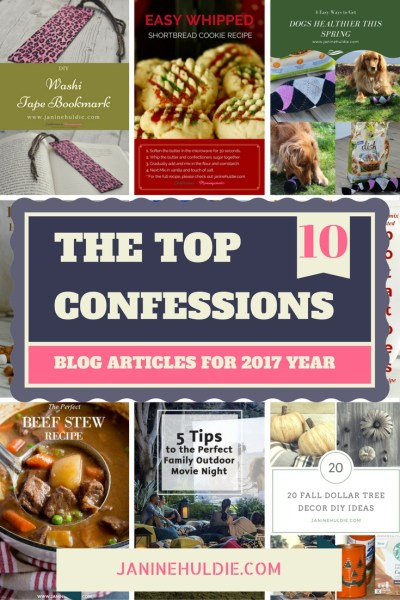 The Top 10 2017 Confessions Blog Articles