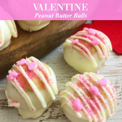 Perfect Peanut Butter Valentine Buck Eyes Candy Recipe