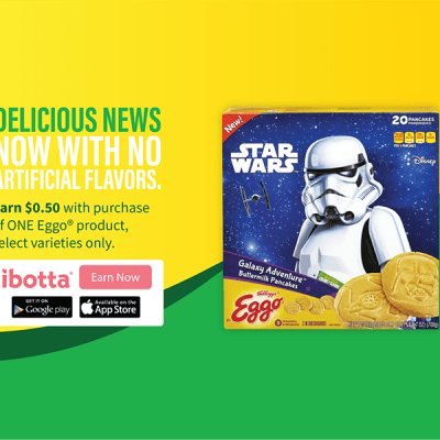 Star Wars Eggo Pancake at Walmart iBotta Offer