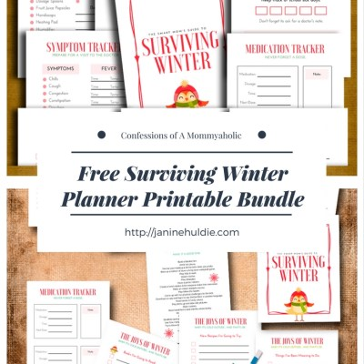 Free Surviving Winter Planner Printable Bundle