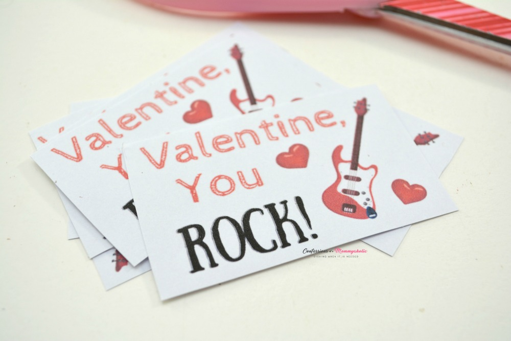Step 3 for You Rock Valentine