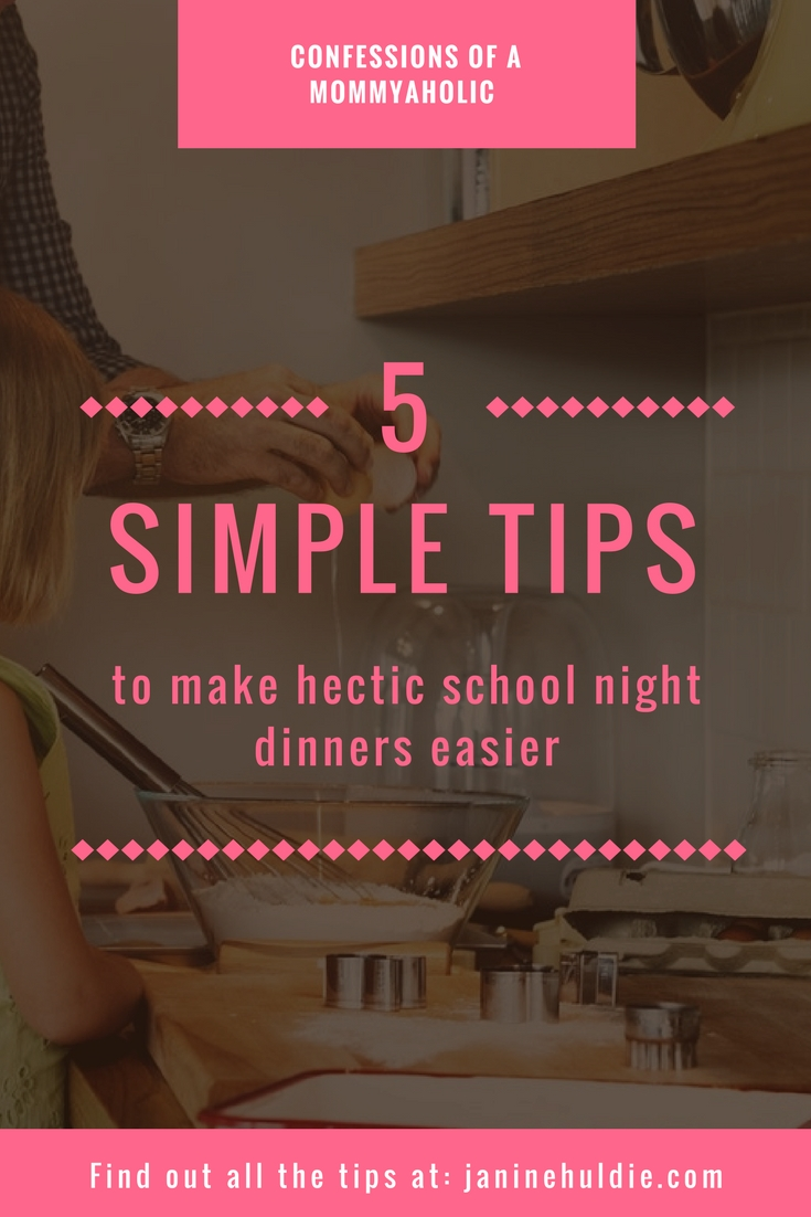 School night dinners, This Mom's Confessions