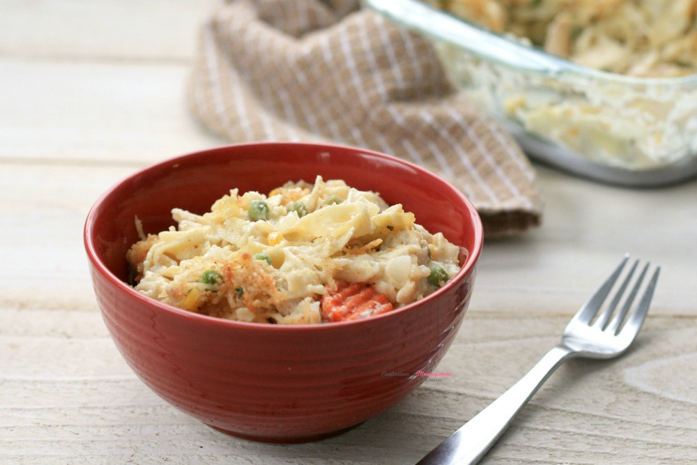 Chicken Noodle Casserole, This Mom's Confessions