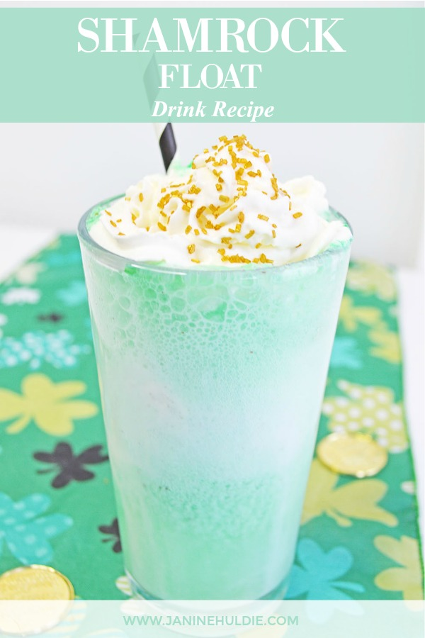 Shamrock Float Drink Recipe Featured Image