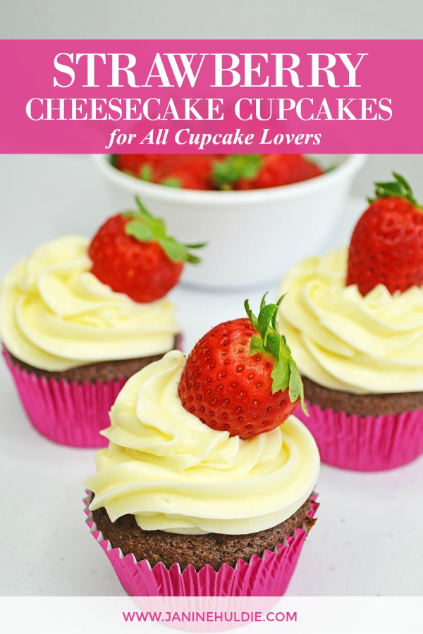 Strawberry Cheesecake Cupcakes, This Mom's Confessions