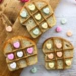 Valentine Tic Tac Toe Bread Recipe Horizontal