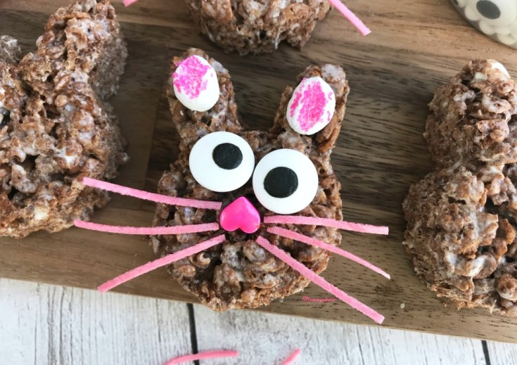 Chocolate Rice Krispies Bunny Treats Recipe Step 3