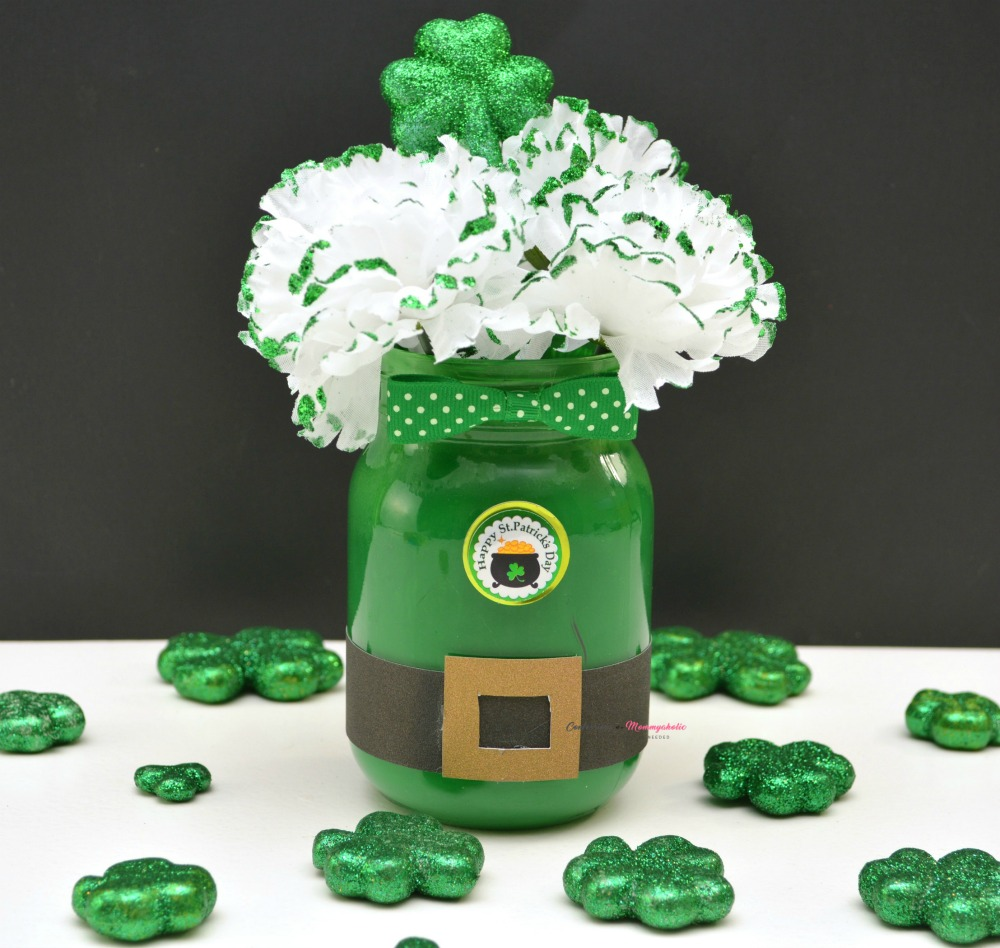 Leprechaun Mason Jar Finished