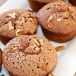 Light and Fluffy Brownie Muffins Horizontal 2