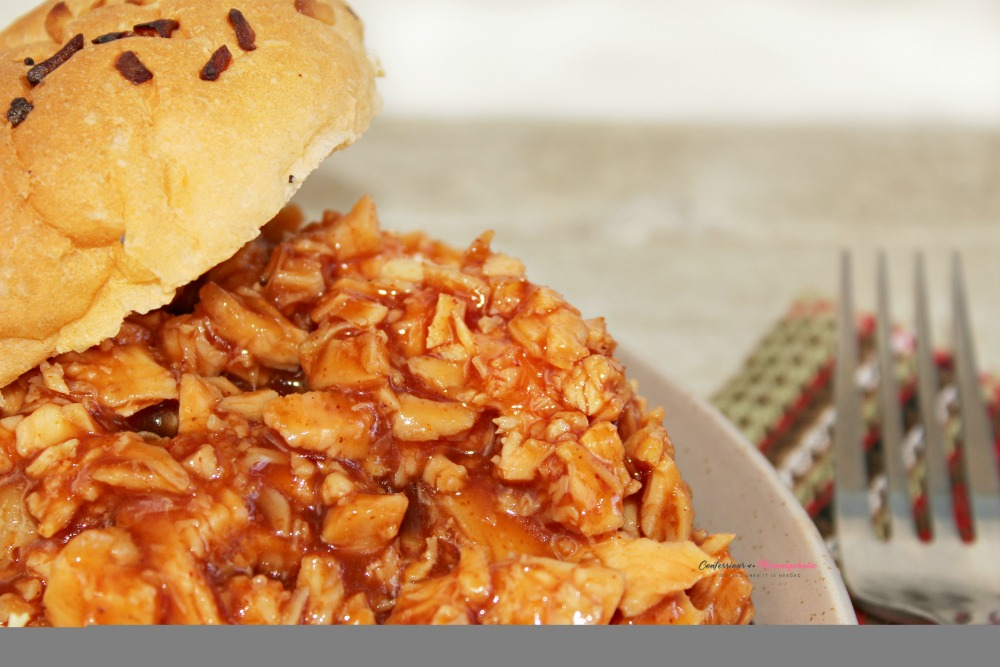 Sweet and Tangy Pulled BBQ Chicken Recipe Horizontal 1