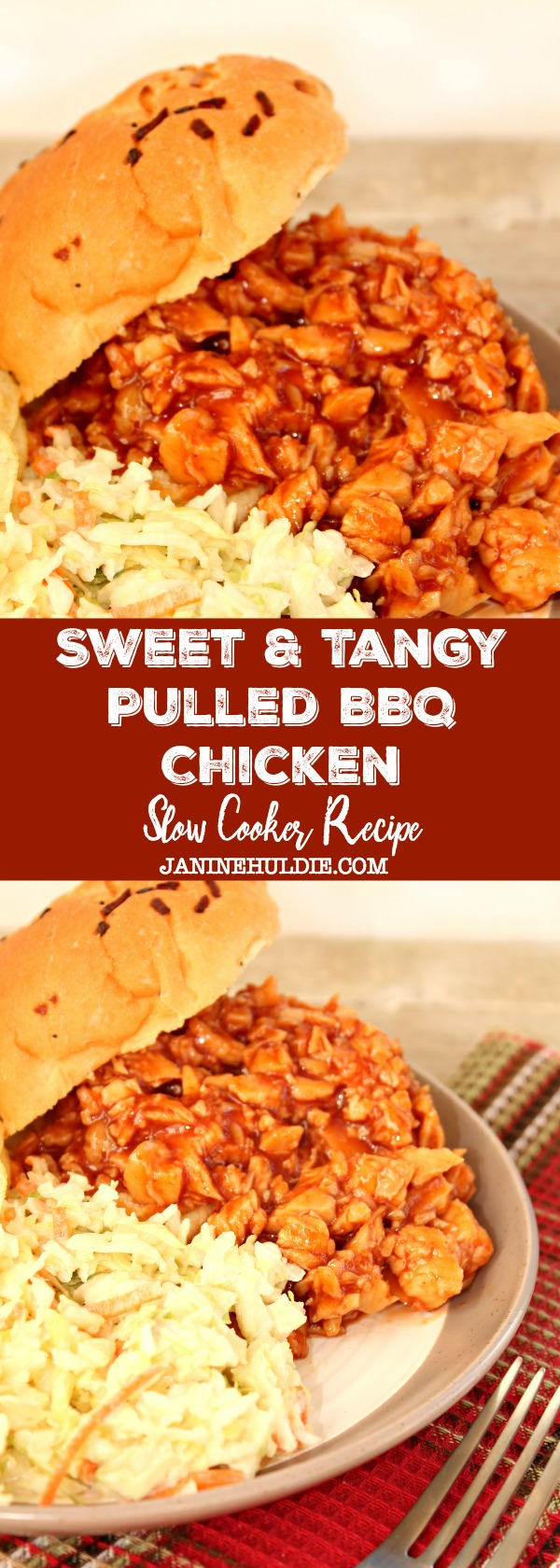 Sweet and Tangy Pulled BBQ Chicken Recipe