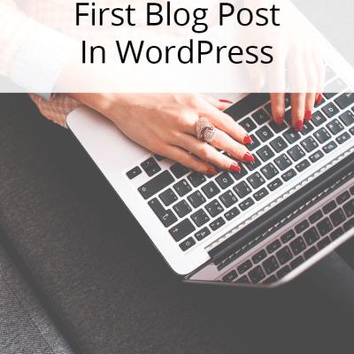 SITS GIRLS First Wordpress Blog Post Help