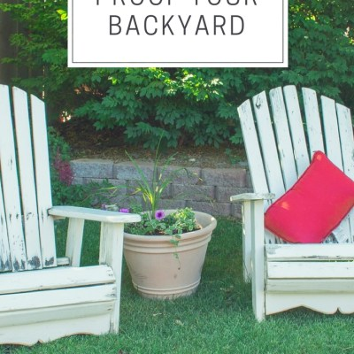 6 Ways to Mosquito Proof Your Backyard for Kid's Outdoor Play