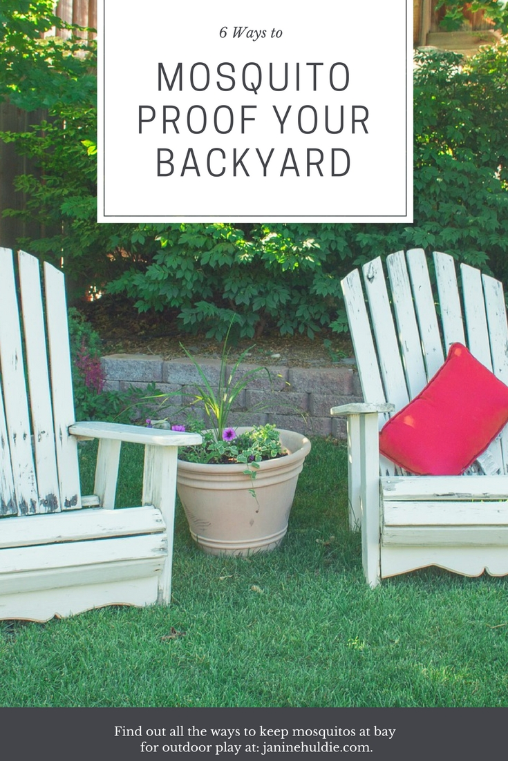6 Ways to Mosquito Proof Your Backyard