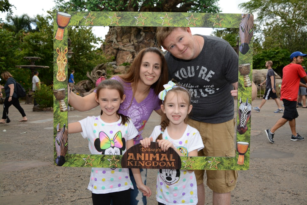 Animal Kingdom in Front of Tree of Life