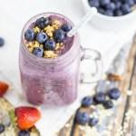 Blueberry Muffin Smoothie Horizontal 2