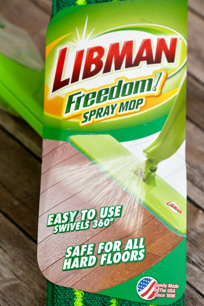 Libman Freedom Spray Mop Logo Info