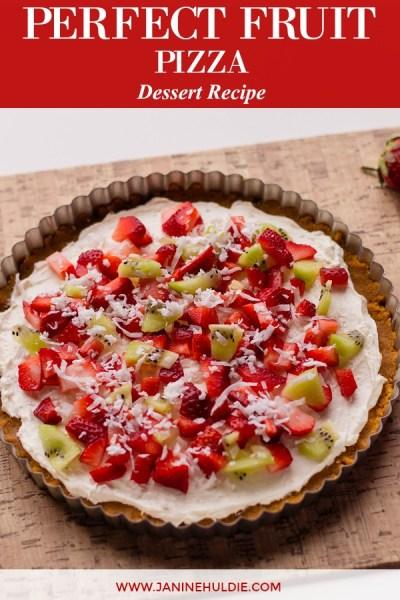 Perfect Dessert Fruit Pizza Recipe Featured Image