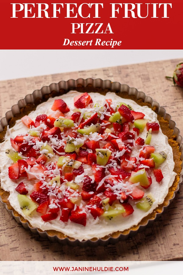 Perfect Dessert Fruit Pizza Recipe Featured Image
