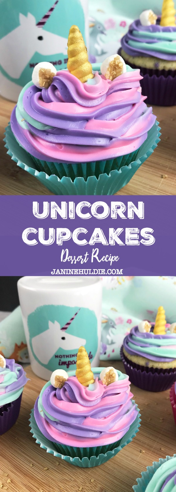 Unicorn Cupcakes Recipe Tutorial For All Unicorn Lovers