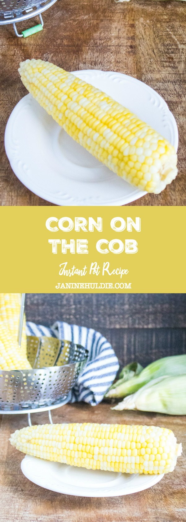 Corn on the Cob Instant Pot Recipe