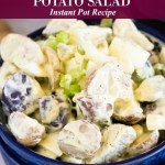 Heirloom Potato Salad Instant Pot Recipe