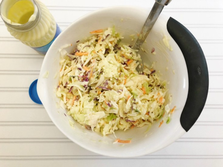 The Easiest Coleslaw Recipe