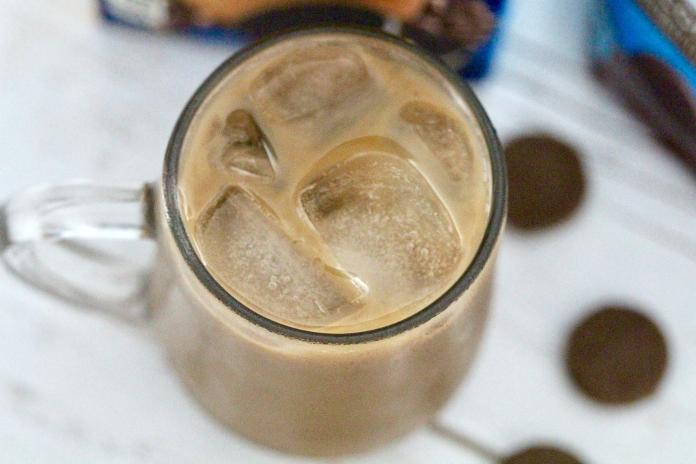 OREO ICED Coffee in Glass