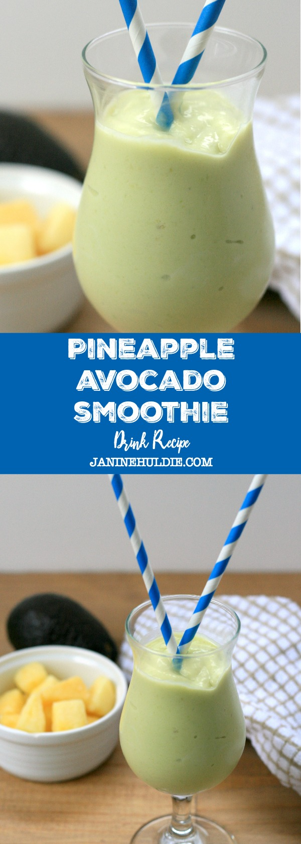 Pineapple Avocado Smoothie Recipe