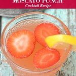 Strawberry Lemonade Moscato Punch Cocktail Recipe