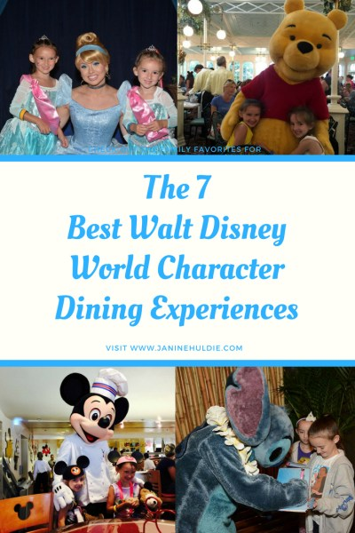 The 7 Best Walt Disney World Character Dining Experiences