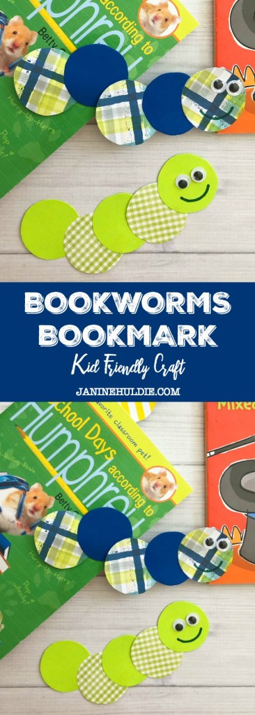 Bookworms Bookmark Craft
