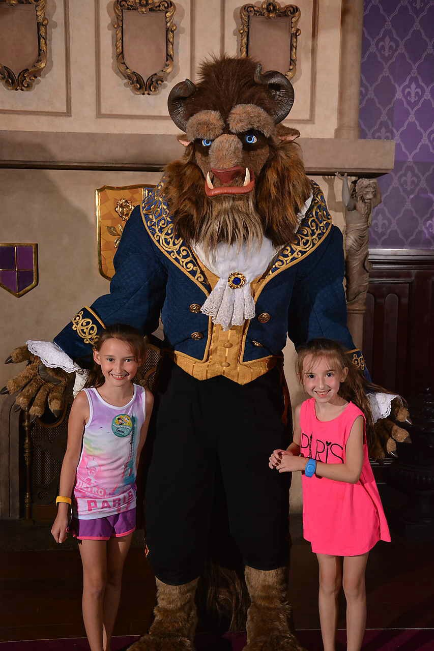 Disney World Magic Kingdom Be Our Guest with the Beast 2018