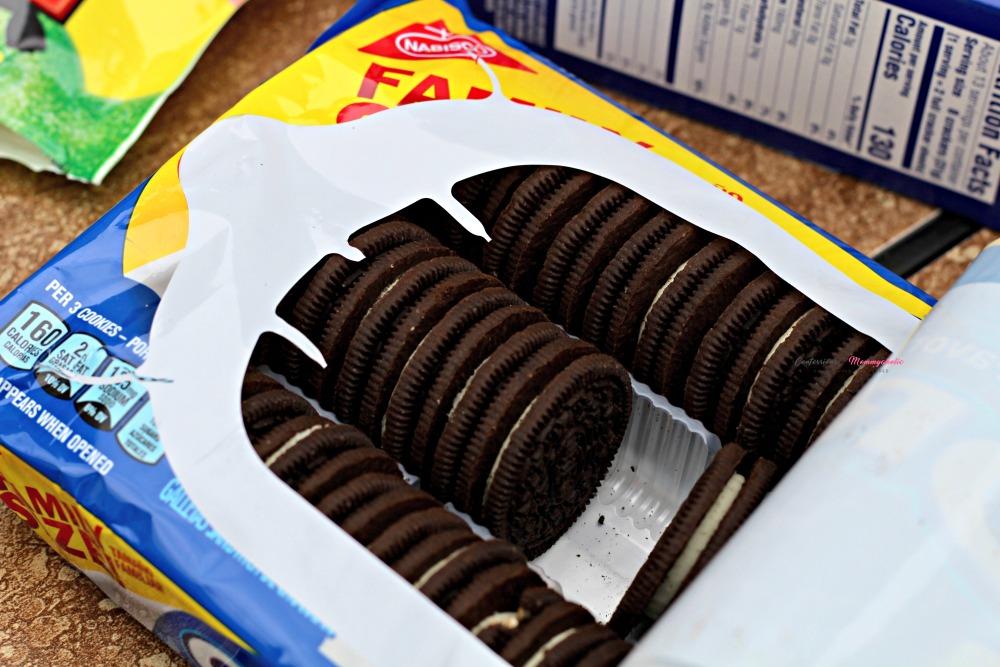 Open Package of OREO Cookies