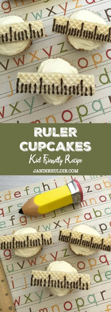 Ruler Cupcakes, This Mom's Confessions