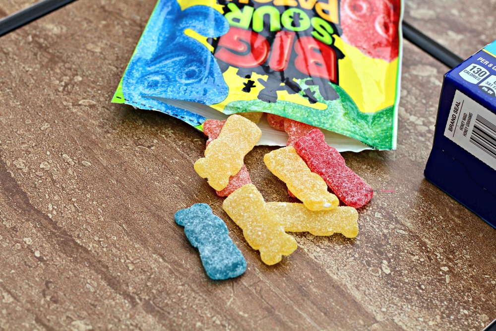 Sour Patch Kids Out of the Package