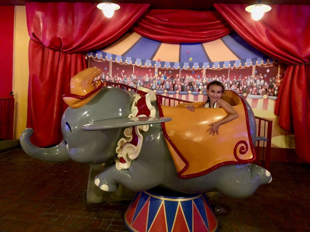 Walt Disney World Magic Kingdom New Fantasy Land Dumbo
