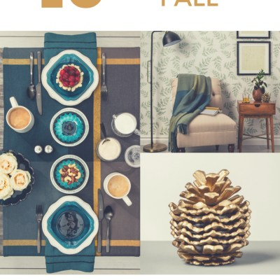 10 Fantastic Fall Ideas To Update the Home from Hearth & Hand from Magnolia