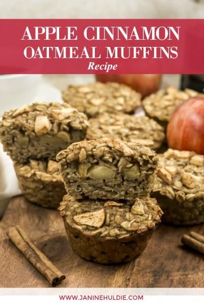 Apple Cinnamon Oatmeal Recipe Featured Image