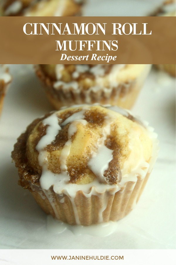 Cinnamon Roll Muffins Recipe Featured Image