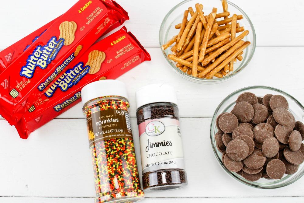 Nutter Butter Acorns Cookie Treats Ingredients