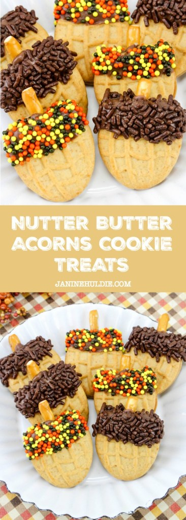 Nutter Butter Acorns Cookie Treats Recipe