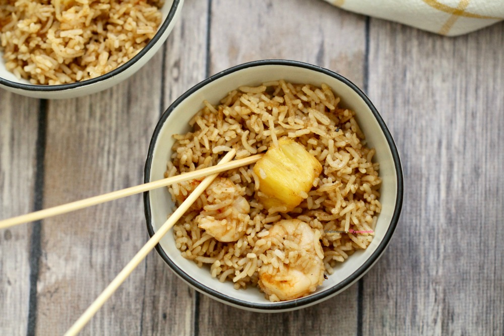 Pineapple Shrimp Fried Rice Recipe Horizontal 2