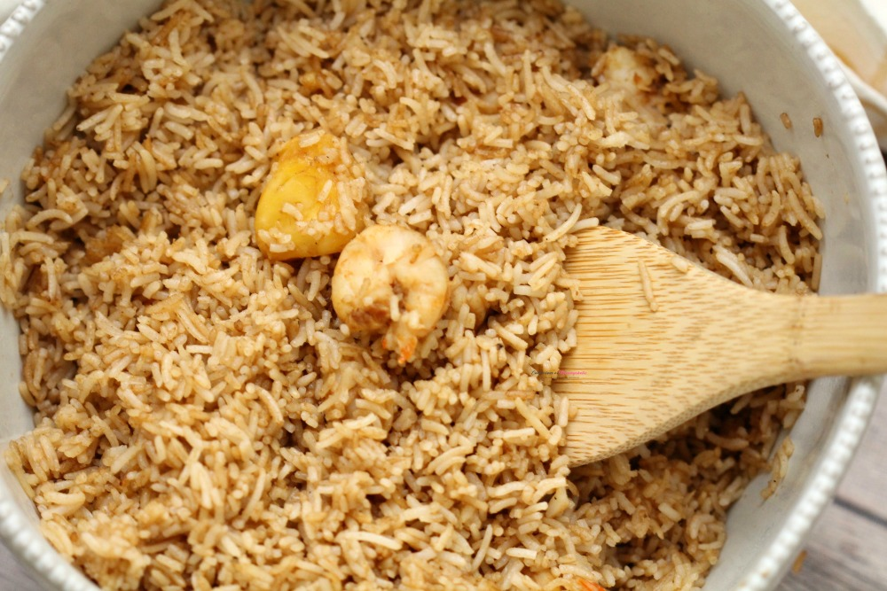 Pineapple Shrimp Fried Rice Recipe Horizontal 3