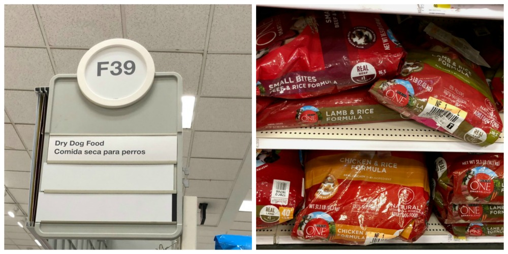 Purina One Dry Dog Food in Target