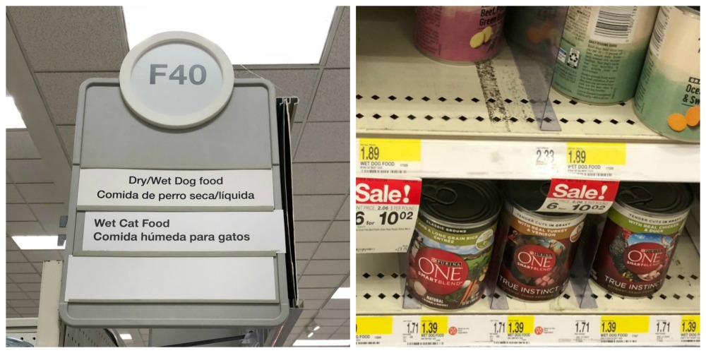 Purina One Wet Dog Food at Target