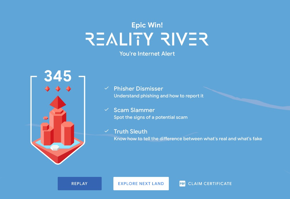 Epic Win Reality River