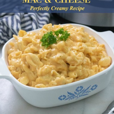 Instant Pot Perfectly Creamy Mac and Cheese Recipe Featured Image