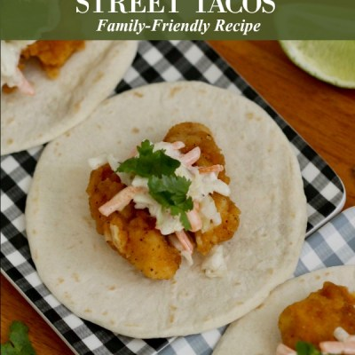 The Most Simple Family Friendly Popcorn Chicken Street Tacos for Taco Tuesdays
